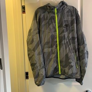 Nike Patterned Windbreaker